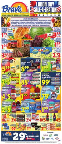 Catalogue Bravo Supermarkets from 09/04/2020