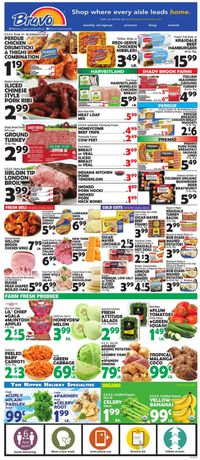 Catalogue Bravo Supermarkets from 09/25/2020