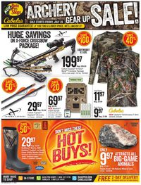 Catalogue Cabela's from 07/26/2019