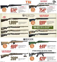 Catalogue Cabela's from 08/09/2019