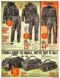 Catalogue Cabela's from 09/19/2019