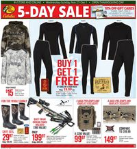 Catalogue Cabela's from 11/27/2019