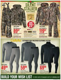 Catalogue Cabela's from 12/08/2019