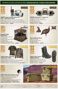 Catalogue Cabela's from 02/01/2020