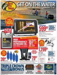 Catalogue Cabela's from 02/13/2020