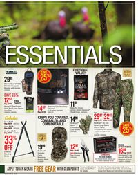 Catalogue Cabela's from 04/02/2020