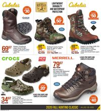Catalogue Cabela's from 08/06/2020