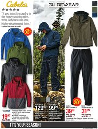 Catalogue Cabela's from 09/24/2020