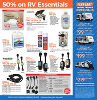 Catalogue Camping World from 01/27/2020