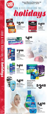 Catalogue Cash Wise - Holiday Ad 2019 from 11/24/2019
