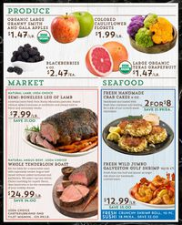 Catalogue Central Market from 12/18/2019