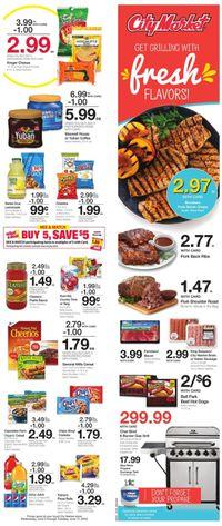 Catalogue City Market from 06/05/2019