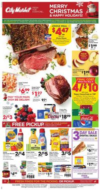 Catalogue City Market - Christmas Ad 2019 from 12/18/2019