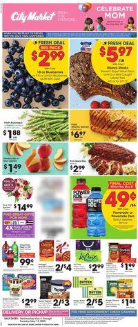Catalogue City Market from 05/06/2020