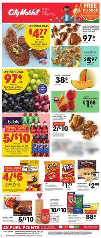 Catalogue City Market from 09/09/2020
