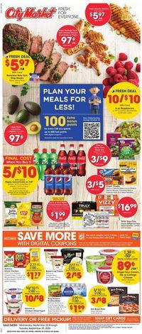 Catalogue City Market from 09/23/2020
