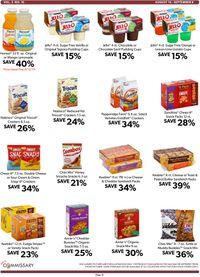 Catalogue Commissary from 08/19/2019