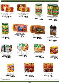 Catalogue Commissary from 01/20/2020