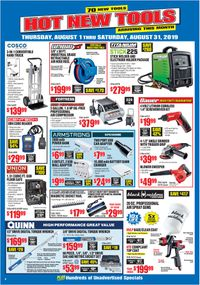 Catalogue Harbor Freight from 08/01/2019