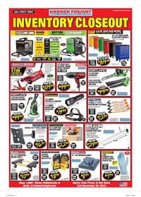 Catalogue Harbor Freight from 11/01/2019