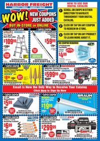 Catalogue Harbor Freight from 07/16/2020