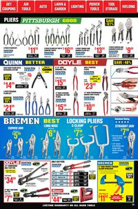 Catalogue Harbor Freight from 09/28/2020