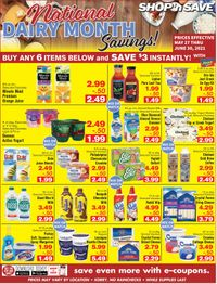 Catalogue Shop 'n Save (Pittsburgh) from 05/27/2021