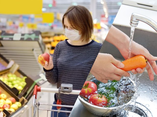 Coronavirus tip: Washing groceries is a good idea, generally